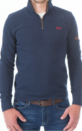 Navy mineral jumper Kentucky