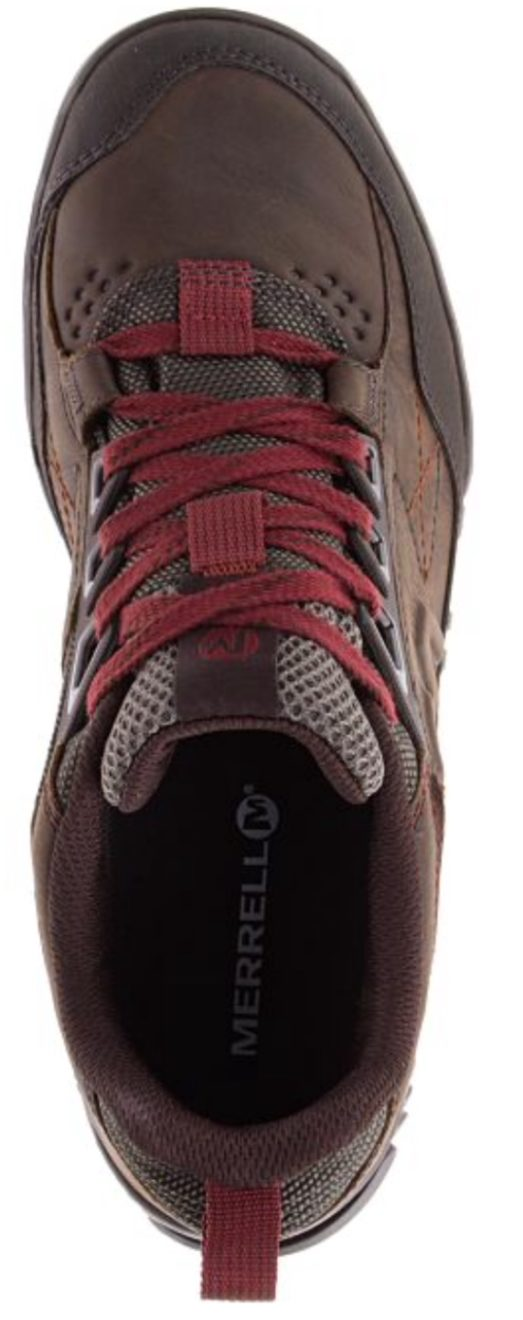 merrell track low clay