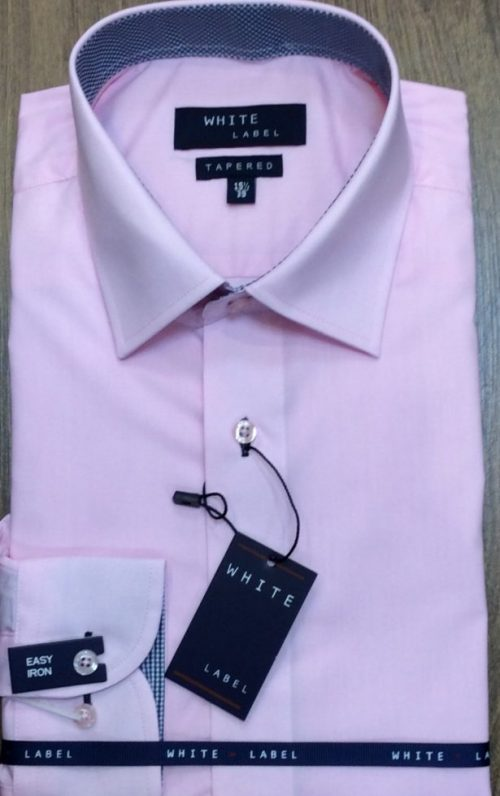 White Label Tapered Shirt Pink