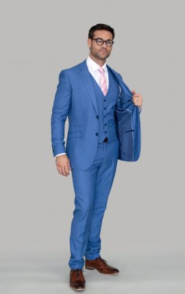 Cavani Blue Jay Suits
