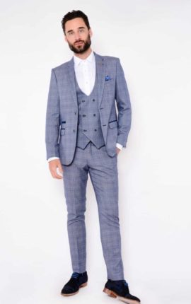 Marc Darcy 3 Piece Suit Harry