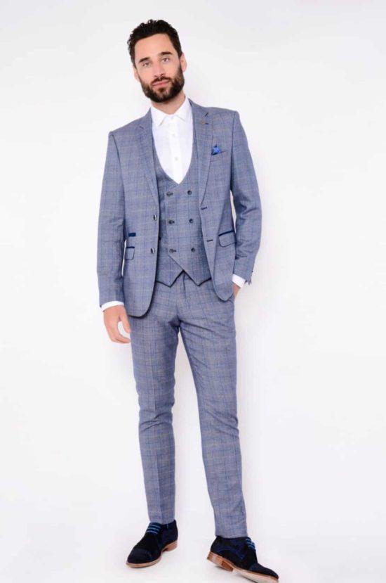 Marc Darcy 3 Piece Suit Harry