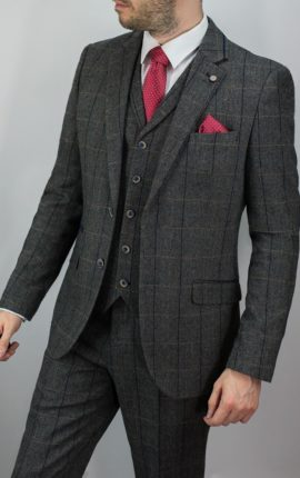Cavani Suit Albert Grey
