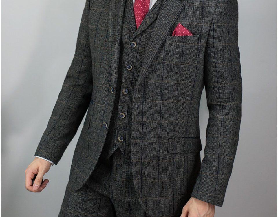 Cavani Suit Albert Grey