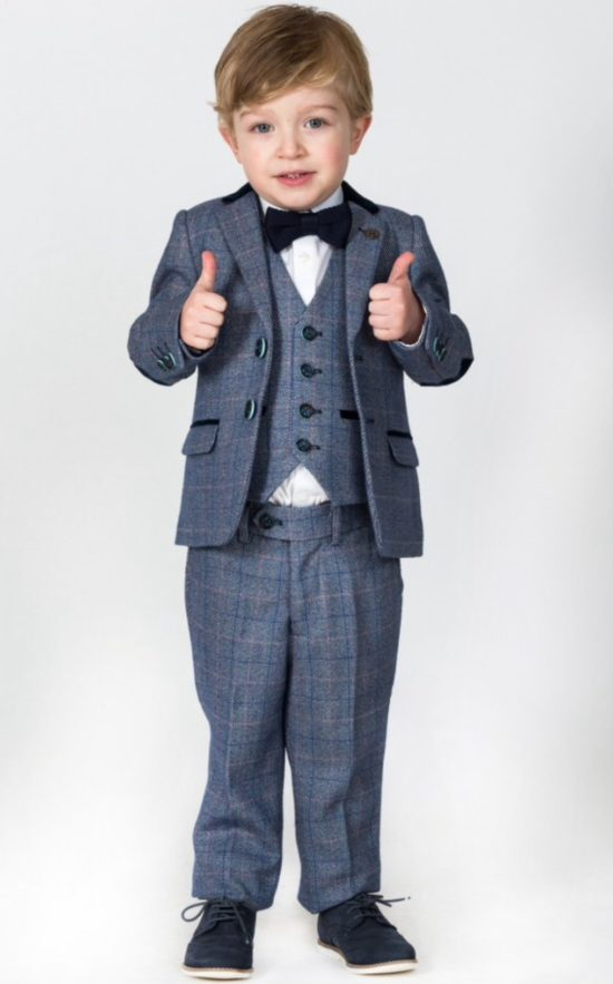 Marc Darcy Kids 3 Piece Suit Hilton