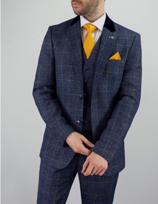Cavani Suit Miles Blue