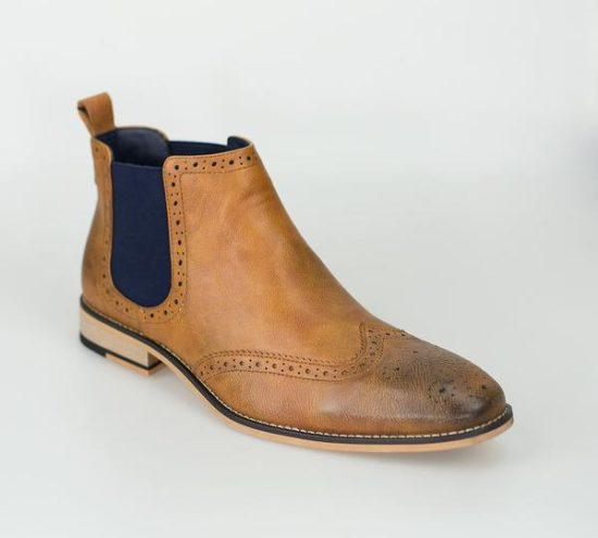 Cavani Chelsea Boots Tan Hound