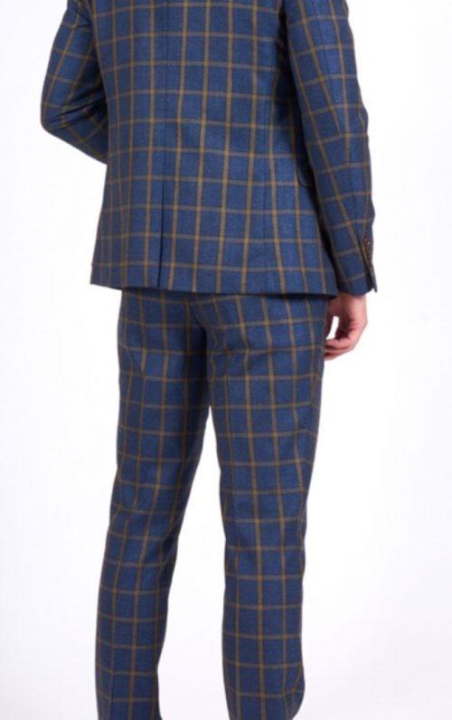Marc Darcy Roman Check Suit 2021