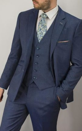 Cavani Suit Steele Grey/Blue