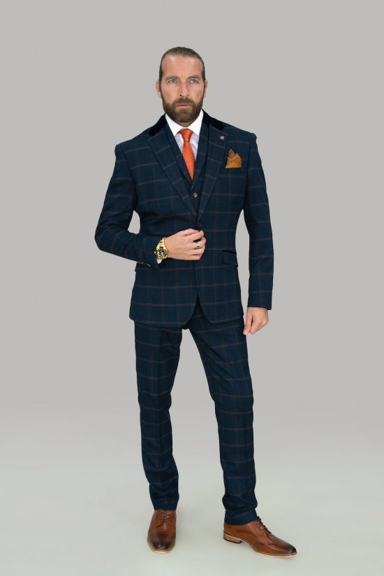 Cavani Connall Suit Navy