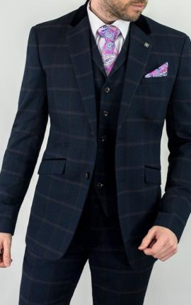 Cavani Connall Suit Navy
