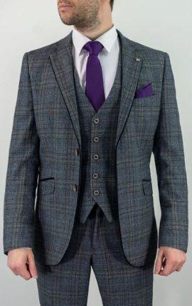 Cavani Suit Porto Blue