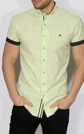 Galand Short Sleeved Shirt Lime