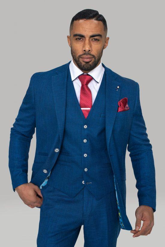 Cavani Suit Miami Blue