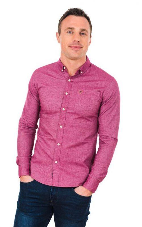XV Kings Brockleians Pink Shirt