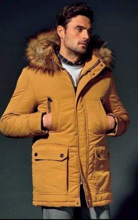 Sea Barrier Hood Coat Yellow