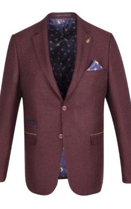Fratelli Uniti Burgundy Jacket