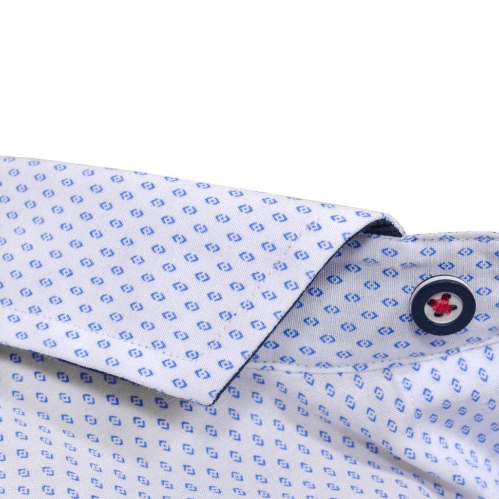 Gumbo White Patterned Long Sleeve Shirt 2021