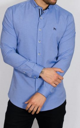 Aland Blue Long Sleeved Shirt