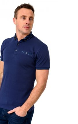 XV Kings Redskins Deep Sea Polo Shirt