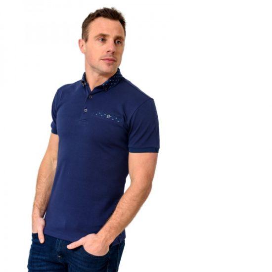 XV Kings Redskins Deep Sea Polo Shirt