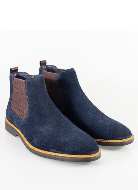 Cavani Arizona Navy Boots