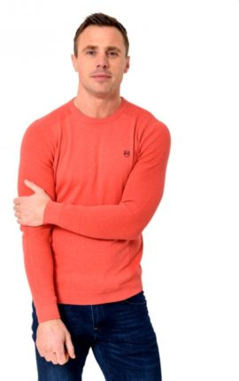 XV Kings Greenfell Peach Jumper