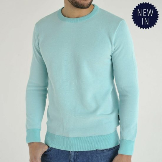 Montan Mint Crew Neck Jumper