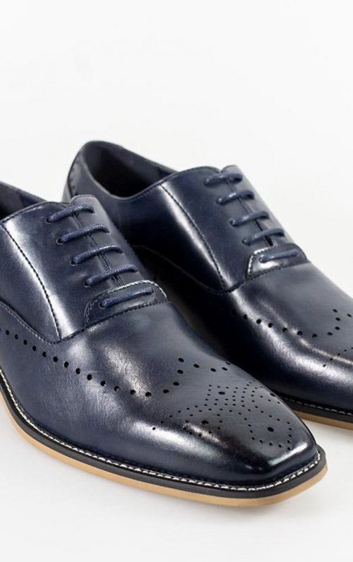Cavani Fabian Navy Shoe