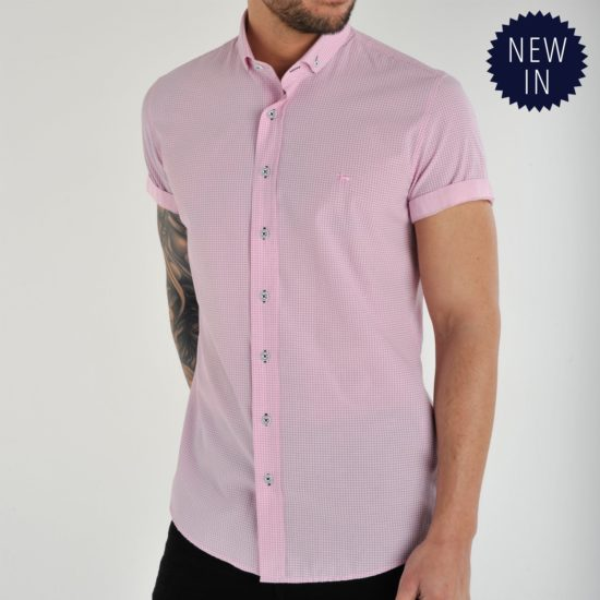 Pollo Pink Dotted Polo Shirt