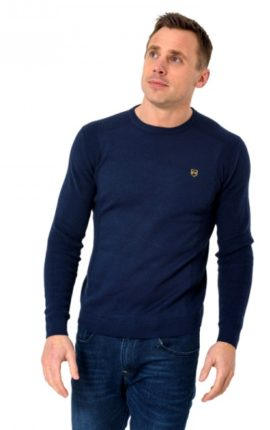 XV Kings Greenfell Navy Jumper