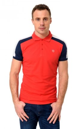 XV Kings Roseville Red Polo Shirt