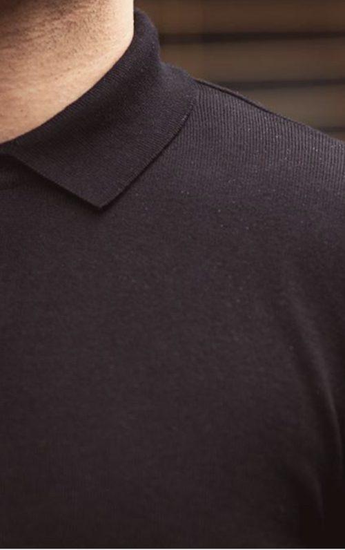 Cavani Black Polo Shirt 2021