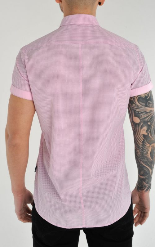 Pollo Pink Dotted Polo Shirt 2021