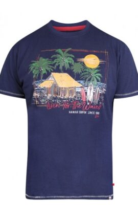 D555 Collins Surf Print T-Shirt