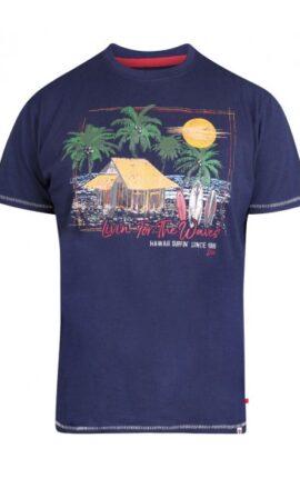 D555 Collins Surf Print T-Shirt