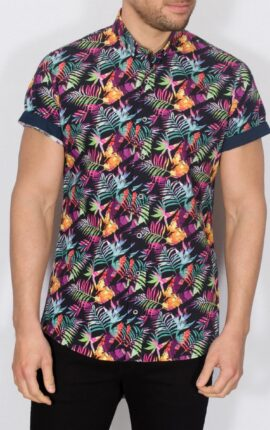 Piers Tropical Short Sleeve Shirt