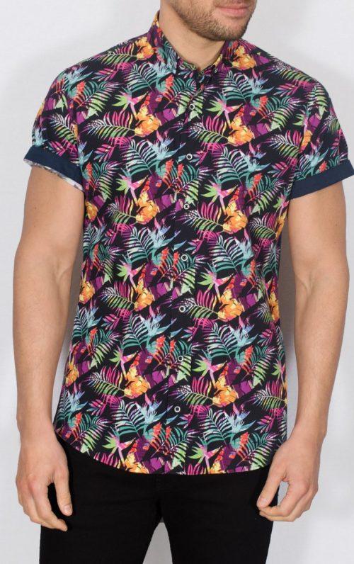 Piers Tropical Short Sleeve Shirt