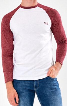 Mineral Gramatal Burgundy Long Sleeved Shirt