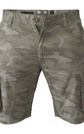 D555 Victor Beige Cargo Shorts