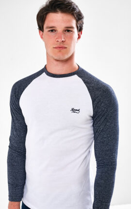 Mineral Gramatal Grey Long Sleeved Shirt