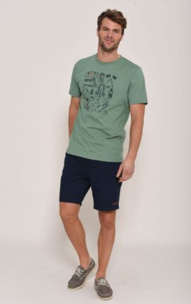 Brakeburn Green hiking T-Shirt