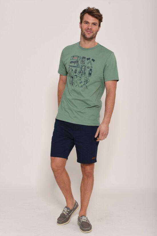 Brakeburn Green hiking T-Shirt
