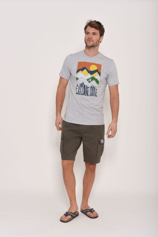 Brakeburn Mountain Grey T-Shirt
