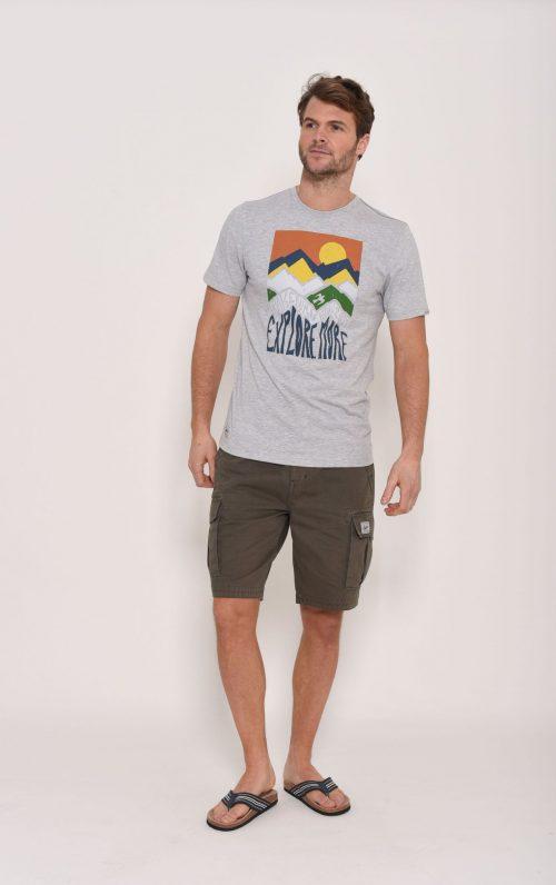Brakeburn Mountain Grey T-Shirt