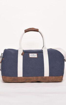 Brakeburn Navy Canvas Duffle Bag