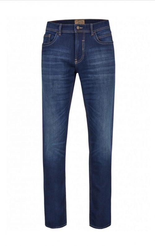 Hattric Stretch Denim Harris Blue Wash Jeans