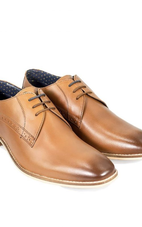 Cavani John Tan Shoes