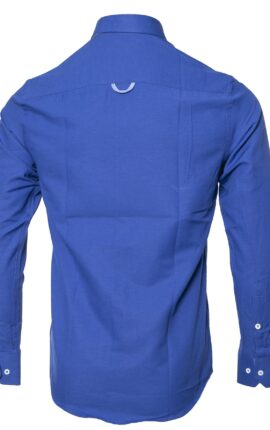 Mineral Lolland Royal Blue Long Sleeved Shirt