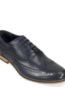 Cavani Oxford Navy Brogues